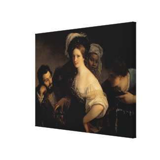 The Young Courtesan, 1821 Stretched Canvas Prints