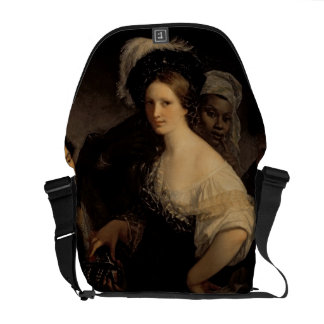 The Young Courtesan, 1821 Courier Bag