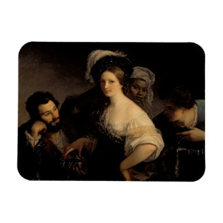 The Young Courtesan, 1821 Magnet