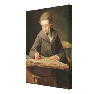The young draughtsman, Carle Vernet, 1772 Canvas Print