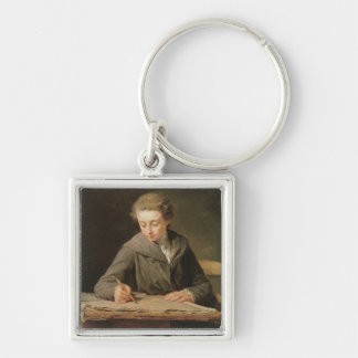 The young draughtsman, Carle Vernet, 1772 Keychain