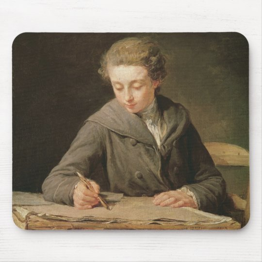 The young draughtsman, Carle Vernet, 1772 Mouse Pad