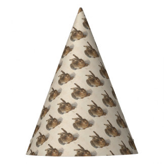 The Young Hare Party Hat