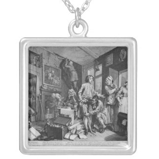The Young Heir Takes Possession Of Silver Plated Necklace