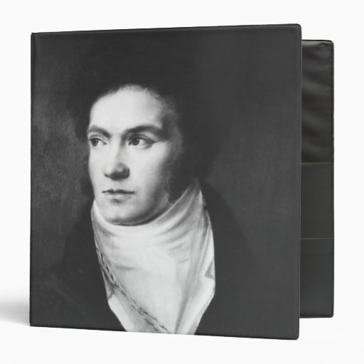 The young Ludwig van Beethoven  1806 3 Ring Binder