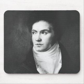 The young Ludwig van Beethoven 1806 mousepad