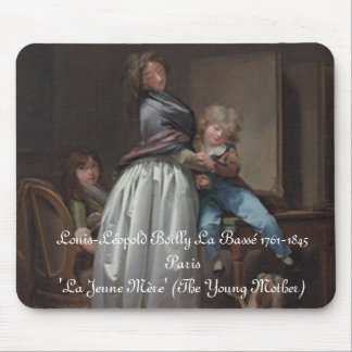 The Young Mother-Mousepad Mouse Pad