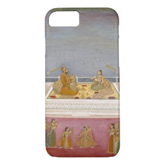 The young Mughal Emperor Muhammad Shah at a nautch iPhone 8/7 Case