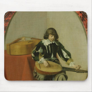 The Young Musician Mouse Pad