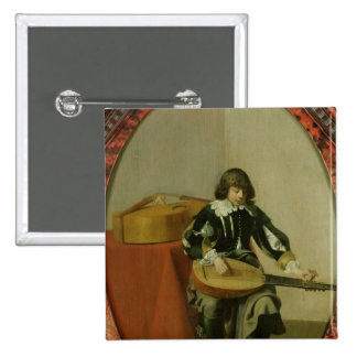 The Young Musician Pinback Button