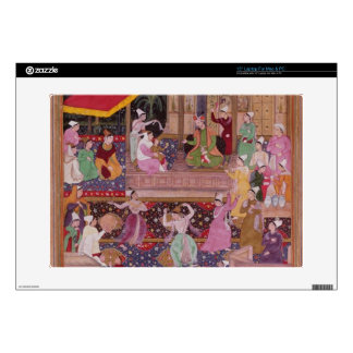 The young Prince with his parents, from the 'Akbar Laptop Skins