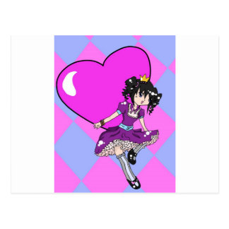 The Young Queen of Hearts Postcard
