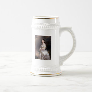 The Young Queen Victoria Beer Stein