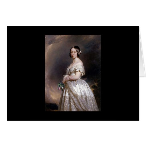 The Young Queen Victoria Greeting Cards