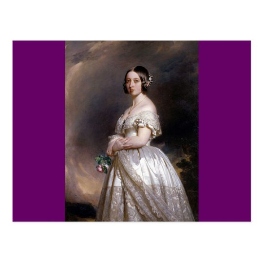 The Young Queen Victoria Postcard