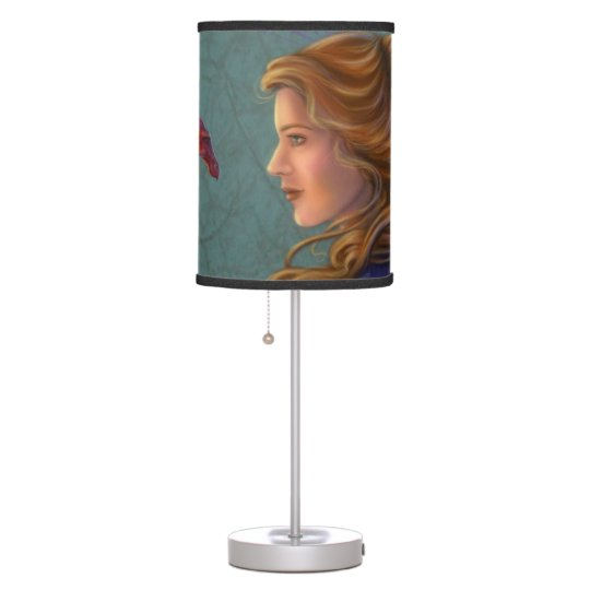 The Young Red Dragon Table Lamp