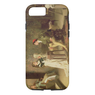The Young Sculptress (oil on canvas) iPhone 7 Case