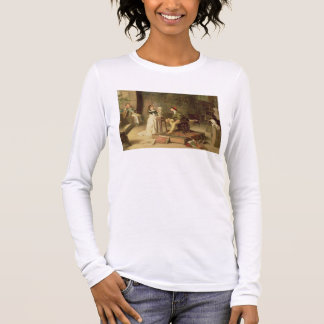 The Young Sculptress (oil on canvas) Long Sleeve T-Shirt