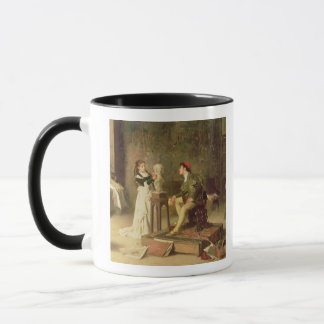 The Young Sculptress (oil on canvas) Mug