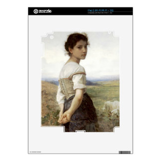 The Young Shepherdess - The Young Girl iPad 2 Skins