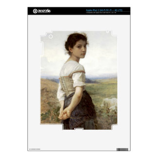 The Young Shepherdess - The Young Girl Skins For iPad 3