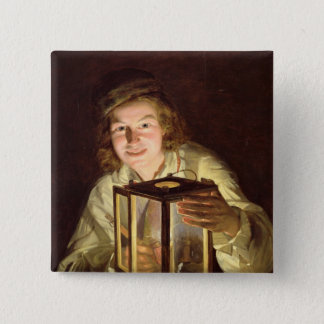 The Young Stableboy with a Stable Lamp, 1824 Button