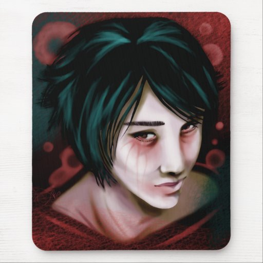 The Young Vampire Boy Mousepad