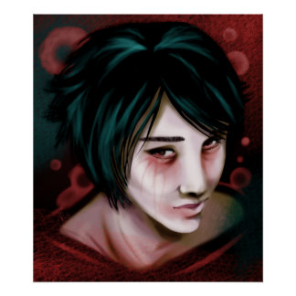 The Young Vampire Boy Print
