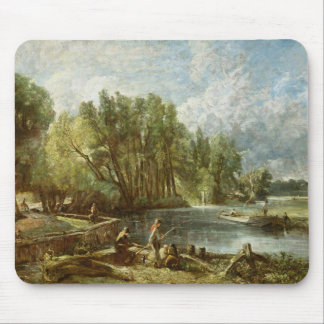 The Young Waltonians - Stratford Mill, c.1819-25 ( Mouse Pad