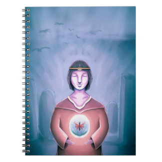 The Young Wizard Spiral Notebook