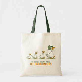 The Youngest Ones Are Always The Troublemakers Canvas Bag