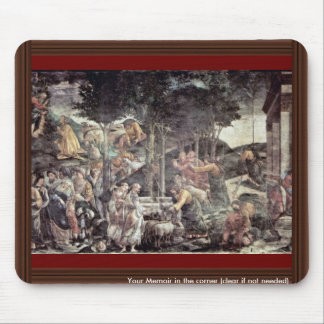 The Youth Of Moses By Botticelli Sandro Mouse Pad