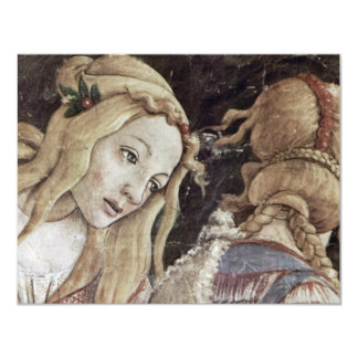 The Youth Of Moses, Detail By Botticelli Sandro Personalized Announcements