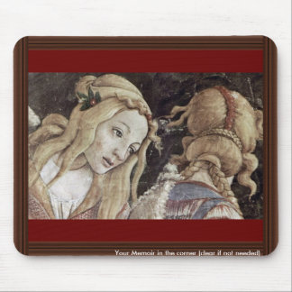 The Youth Of Moses Detail By Botticelli Sandro Mousepad