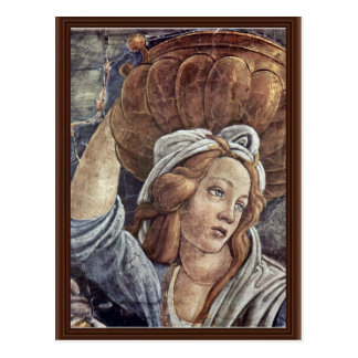 The Youth Of Moses, Detail By Botticelli Sandro Post Card