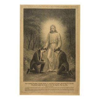 The Youthful Prophet Joseph Smith Jr. (1898) Wood Wall Decor