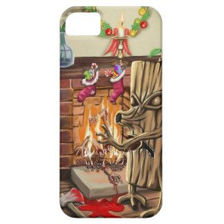 The Yule Logs Revenge iPhone SE/5/5s Case