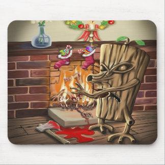 The Yule Logs Revenge Mousepad