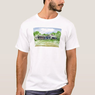 The Zack House, Lighthouse Road by Arnold Zack T-Shirt