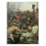 The Zaporozhye Cossacks writing a letter Spiral Notebook