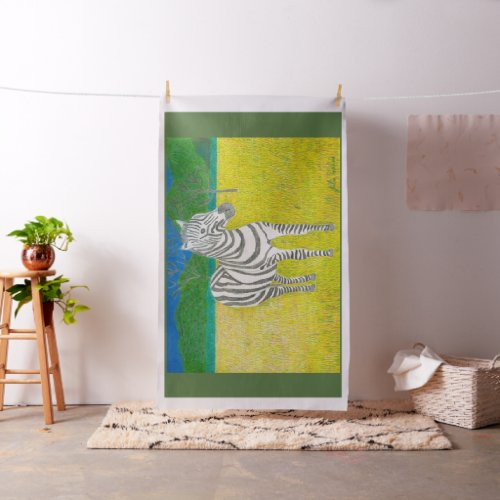 The Zebra Fabric by Julia Hanna