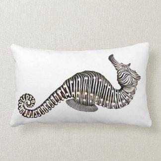 The Zebra Seahorse Lumbar Pillow