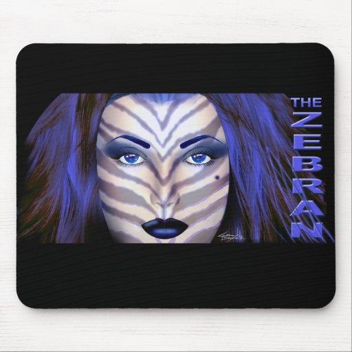 The Zebran Mousepad