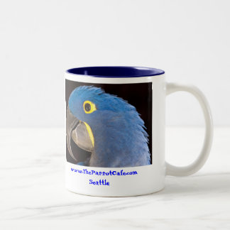 The Zen Parrot Cafe Mug