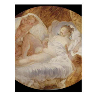 The Zenith by Jean-Honore Fragonard Postcard