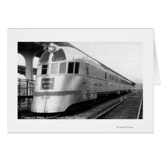 The ZepherStainless Steel Streamlined Train Card
