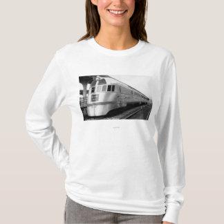 The ZepherStainless Steel Streamlined Train T-Shirt