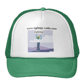 The Zgleep hat (green)
