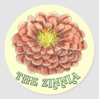 The Zinnia stickers