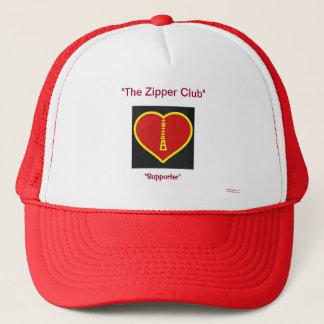 THe  Zipper Club  Supporter Trucker Hat